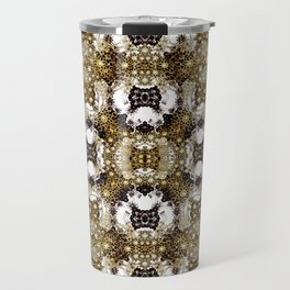 Baroque Ornament Pattern Print Travel Mug