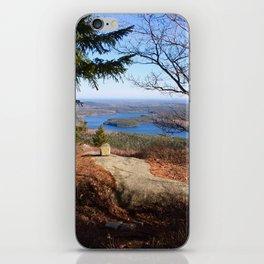 Top of Tunk Mountain iPhone Skin