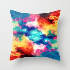 Painted Clouds V.1 MIRRORED Throw Pillow