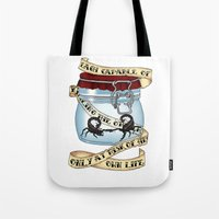 Father of the atom bomb Tote Bag