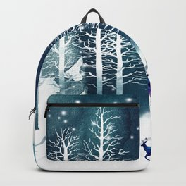 Winter Night 2 Backpack