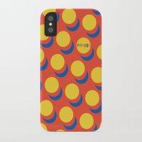 lichtenstein iPhone & iPod Cases featuring Wanna-Be Roy Lichtenstein Pattern & Letterform by Heidi Clifford