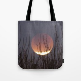 Super Blood Moon Eclipse 2018 Tote Bag