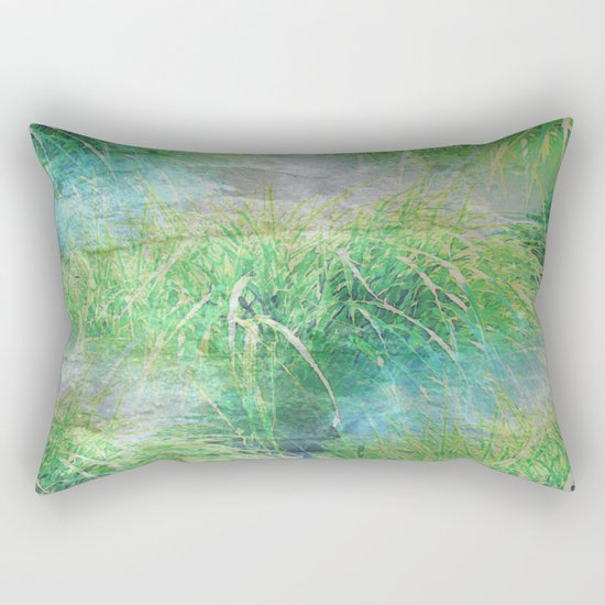 Nature's Miracles Abstract Rectangular Pillow