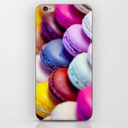 Rainbow Macarons iPhone Skin