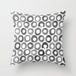The Veggie Series – Potato grey Throw Pillow