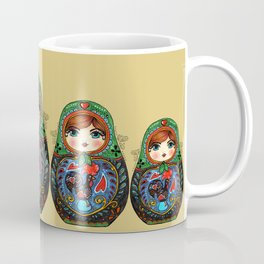 Portuguese Matryoshka Coffee Mug
