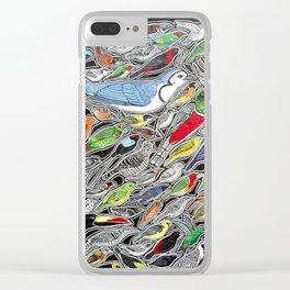 Birds of Costa Rica Clear iPhone Case