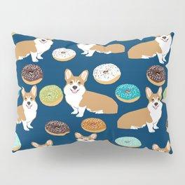 Corgi donuts welsh corgis food desserts doughnuts dog breed corgis Pillow Sham