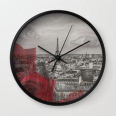 Do You Remember Paris? Wall Clock