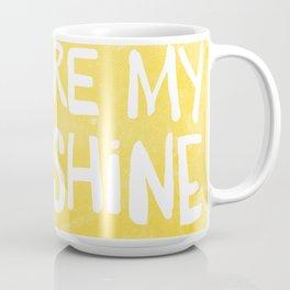 My Sunshine Love Coffee Mug