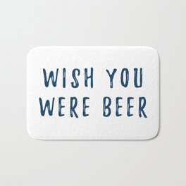 Beer for Here Bath Mat