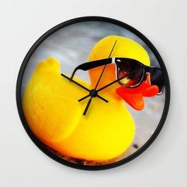 Beach Duck Wall Clock