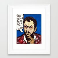 kubrick Framed Art Prints featuring Kubrick by Hugo Maldonado