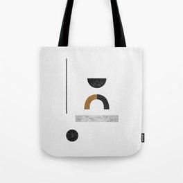 Abstract Geometric III, Modern Artwork Tote Bag