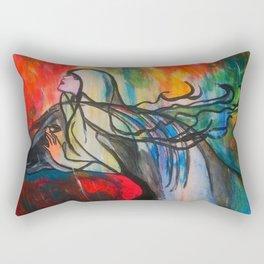 Chasing The Rain  #society6 #decor #buyart Rectangular Pillow
