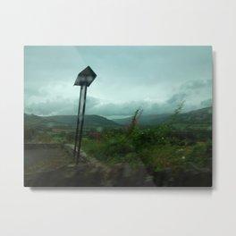 Wild Hillside Winds Metal Print