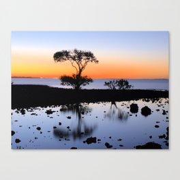 Cleveland Point Sunset Canvas Print