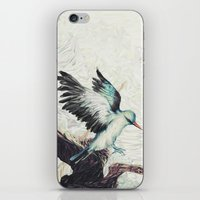 flight iPhone & iPod Skins featuring Flight by ChrisRIllustrations