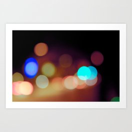 Dots & Colors Art Print
