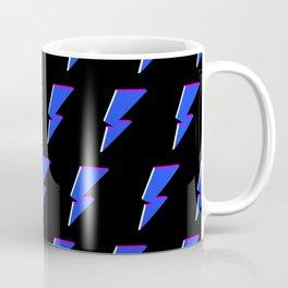 3D Power Symbol Pattern - Blue Coffee Mug
