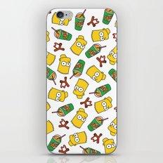 Bart Simpson Icons iPhone & iPod Skin