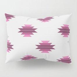Plumly Pink Aztec Print Pillow Sham