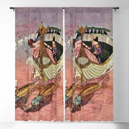 Nutcracker and The Mouse King by Artus Schneider Blackout Curtain