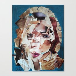 SHATTERED VISAGE Canvas Print