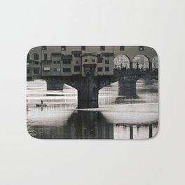 Ponte Vecchio {bw Bath Mat
