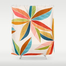 Multicolorful Shower Curtain