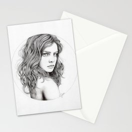 JennyMannoArt Graphite drawing Stationery Cards