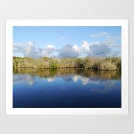 Everglades Serenity Art Print