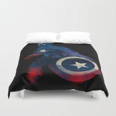 For Truth And Justice Duvet Cover
