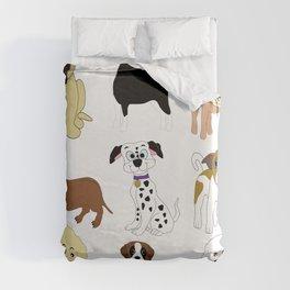 Pet dogs design Duvet Cover
