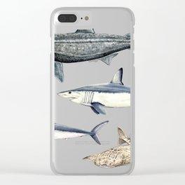 Shark diversity Clear iPhone Case