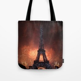 As France Celebrates Their Nation's Birthday Tote Bag