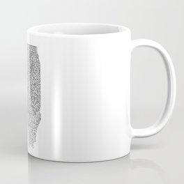 Illinois map design Coffee Mug