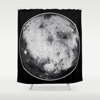 titan Shower Curtains featuring Titan #4 by Tobias Bowman