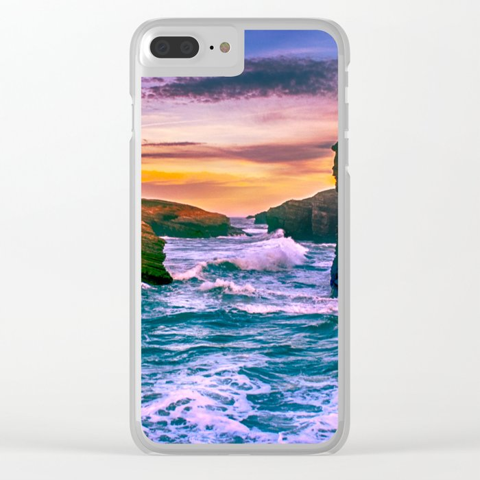 As Catedrais Clear iPhone Case