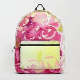 Llama in flower crown Backpack