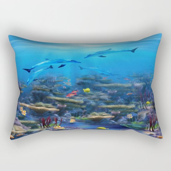 Lost Ocean Rectangular Pillow