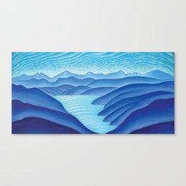 West Arm of Kootenay Lake Canvas Print