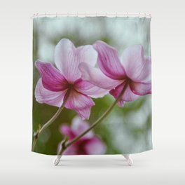 flower photography by Charlotte B Shower Curtain