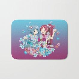 Sayaka Miki & Kyoko Sakura - Love Yukata edit. Bath Mat