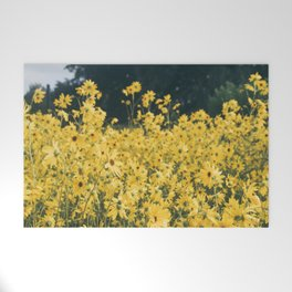 Daisies For Days Welcome Mat
