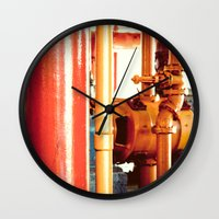 channel Wall Clocks featuring Channel by Kiersten Marie Photography