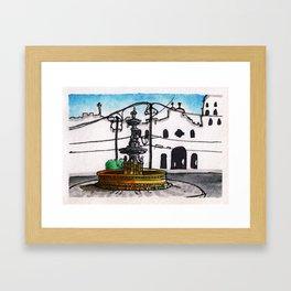 Philippines : Carriedo Fountain Framed Art Print