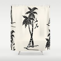 coco Shower Curtains featuring coco-nut! by gasponce