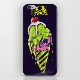 Toxic Ice Creame iPhone Skin